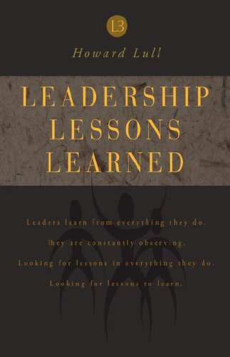 9781583850992: Leadership Lessons learned