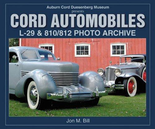 Auburn Cord Duesenberg Museum Presents Cord Automobiles: L-29 & 810/812 Photo Archive: ...