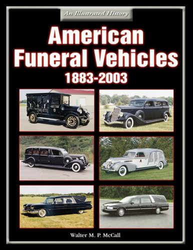 9781583881040: American Funeral Vehicles 1883-2003: An Illustrated History