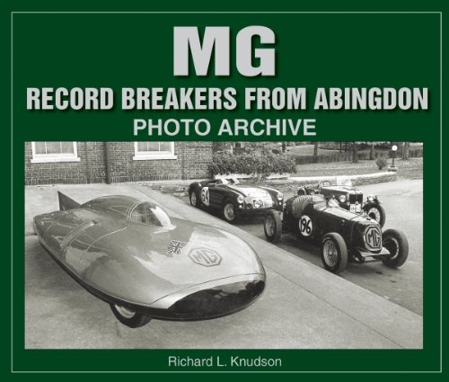 9781583881163: M G Record-Breakers from Abingdon Photo Archive