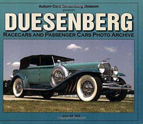 DUESENBERG. Racecars and Passenger Cars Photo Archive: Bill, Jon M.
