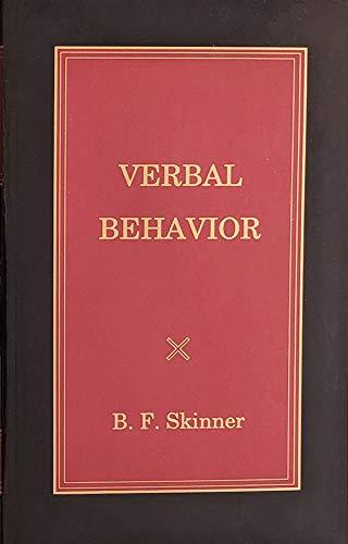 9781583900215: Verbal Behavior