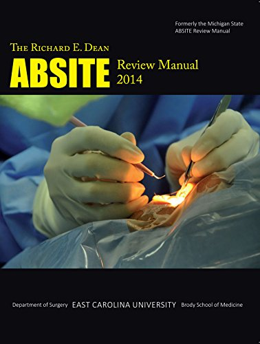 9781583901724: 2014 Richard E. Dean Absite Review Manual
