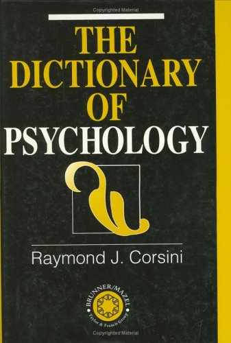9781583910283: Dictionary of Psychology