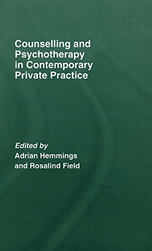 9781583912454: Counselling and Psychotherapy in Contemporary Private Practice