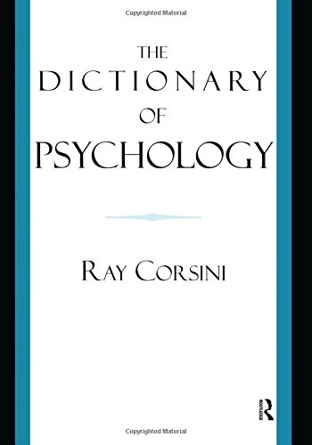 9781583913284: The Dictionary of Psychology