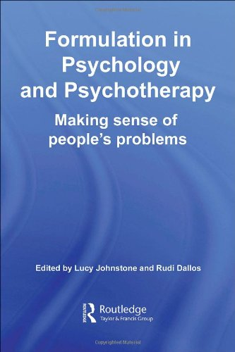 9781583917008: Formulation in Psychology and Psychotherapy: Making Sense of People's Problems