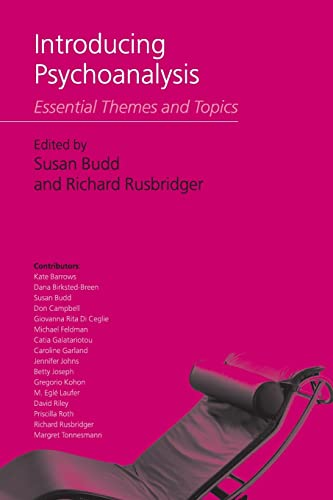9781583918883: Introducing Psychoanalysis: Essential Themes and Topics