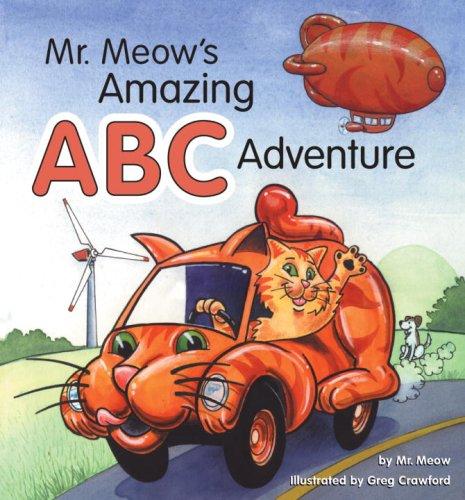 Mr. Meow's Amazing ABC Adventure: Frog Children's Books
