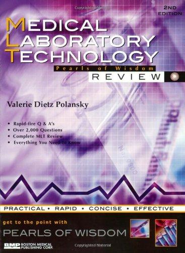 Medical Laboratory Technology: Pearls Of Wisdom: Polansky, Valerie Dietz