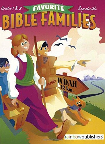 9781584110248: Favorite Bible Families Grades 1 & 2