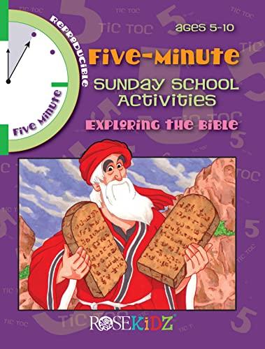9781584110484: 5 Minute Sunday School Activities -- Exploring the Bible