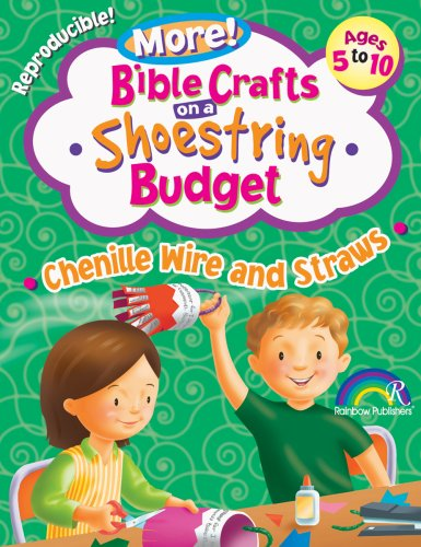 9781584110606: Bible Crafts on a Shoestring Budget: Chenille Wire & Straws