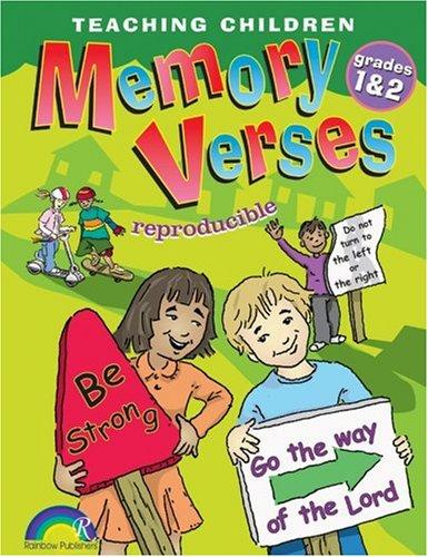 9781584110651: TEACHING CHILDREN MEMORY VERSES, GRADES 1&2