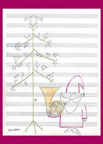 Fotofolio Holiday Boxed Cards, Steinberg Santa Claus: Fotofolio