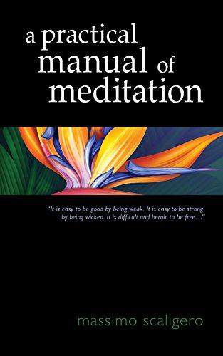 9781584201908: A Practical Manual of Meditation