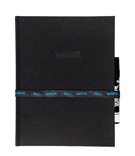 9781584235712: Handselecta Blackbook Journal W/Marker - Gorey