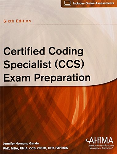 9781584261094: Certified Coding Specialist (CCS) Exam Preparation