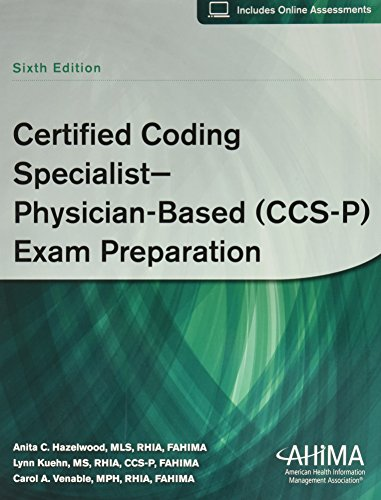 9781584261179: Certified Coding Specialist--Physician-Based (CCS-P) Exam Preparation