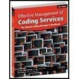 9781584261698: Effective Management of Coding Services: The Clinical Coding Manager's Handbook