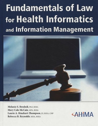 Fundamentals of Law for Health Informatics and