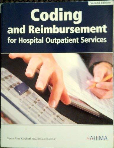 9781584261919: Coding and Reimbursement for Hospital Outpatient Services