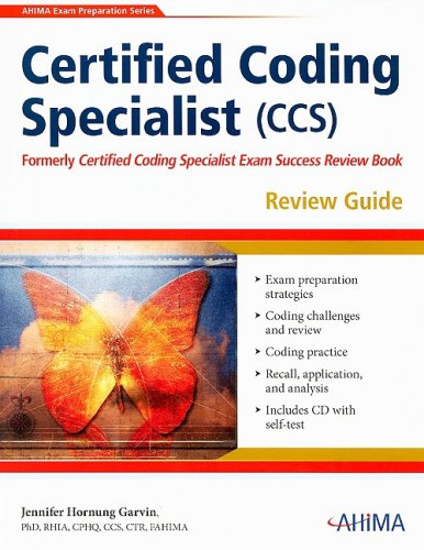 Certified Coding Specialist (CCS) Review Guide [With: Jennifer Hornung Garvin