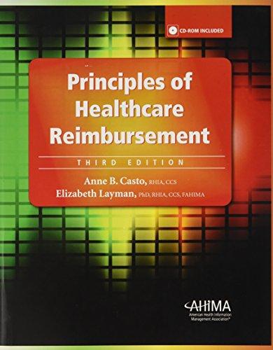 9781584262435: Principles of Healthcare Reimbursement [With CDROM]