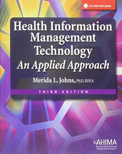 9781584262596: Health Information Management Technology: An Applied Approach