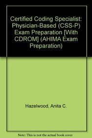 9781584262657: certified coding specialist: physician based (ccs-p ...