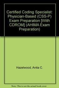9781584262657: Certified Coding Specialist: Physician Based (Ccs-p) : Exam Preparation (AHIMA Exam Preparation)