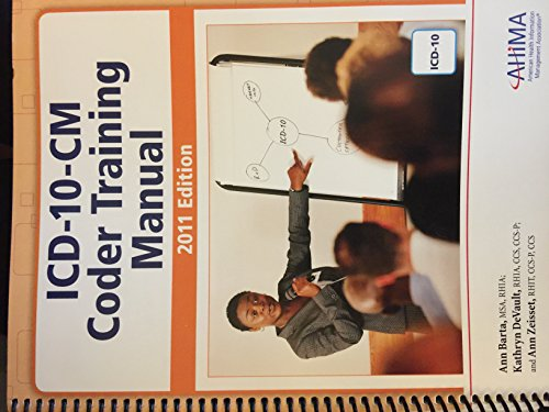 ICD-10-CM Coder Training Manual 2011: Barta, Ann