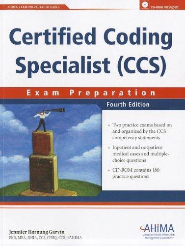 Certified Coding Specialist (CCS): Exam Preparation: Garvin, Jennifer Hornung