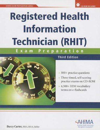 Registered Health Information Technician (RHIT) Exam Preparation: Carter, Darcy
