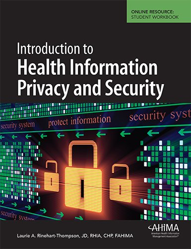 Introduction to Health Information Privacy and Security: Rinehart-Thompson, Laurie