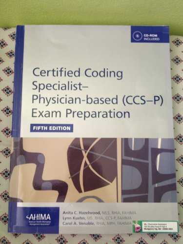 9781584263609: Certified Coding Specialist-Physician Based (CCS-P) Exam Preparation