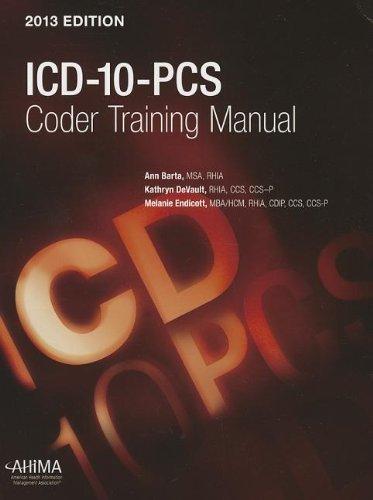 9781584263654: ICD-10-PCS 2012 Coder Training Manual