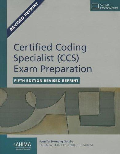 Certified Coding Specialist (CCS) Exam Preparation: Garvin, Jennifer Hornung