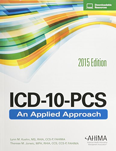 9781584264330: ICD-10-PCS: An Applied Approach, 2015 Edition
