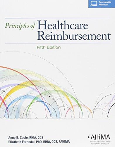 9781584264347: Principles of Healthcare Reimbursement