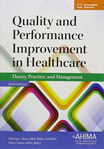 the quality improvement in healthcare It is written for a general health care audience and will be most useful for those new to the field of quality improvement,  director of healthcare quality and.