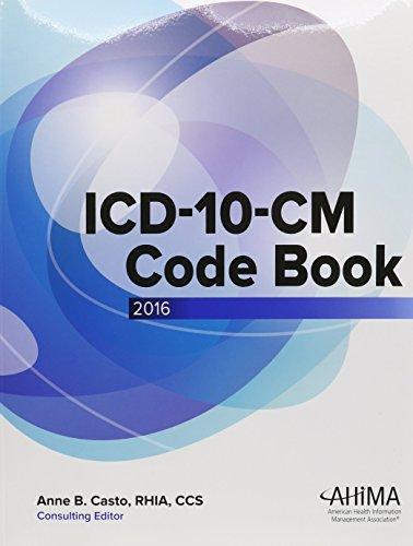 9781584265238: ICD-10-CM Code Book, 2016