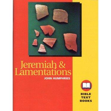 9781584270638: Jeremiah & Lamentations (Bible Text Book) Bible Study Workbook