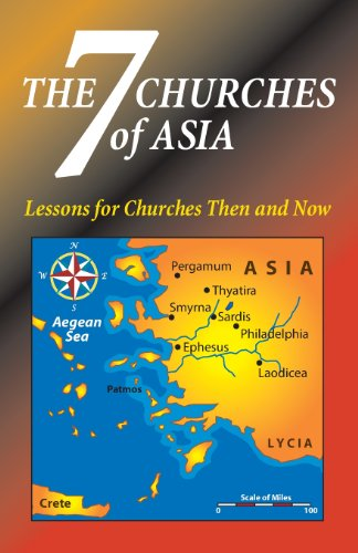 The Seven Churches of Asia (Paperback): Matt Hennecke