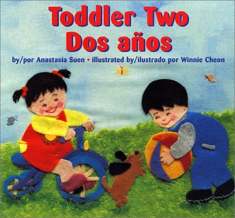 9781584300540: Toddler Two/Dos anos (English and Spanish Edition)