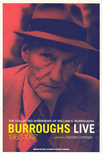 9781584350101: Burroughs Live (Semiotext(e) / Native Agents)