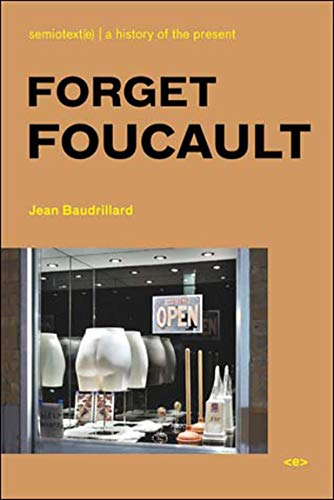 Forget Foucault (Paperback): Jean Baudrillard