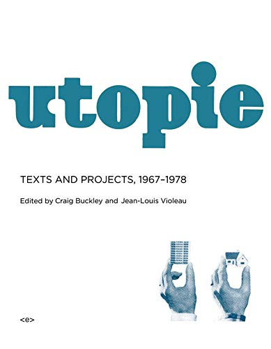 Utopie: Craig Buckley (editor),