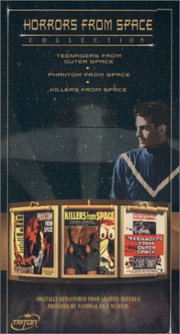 9781584481720: Horrors From Space Collection - Teenagers From Outer Space/Phantom From Space/Killers From Space [VHS]