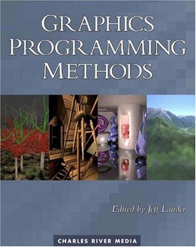 9781584502999: Graphics Programming Methods
